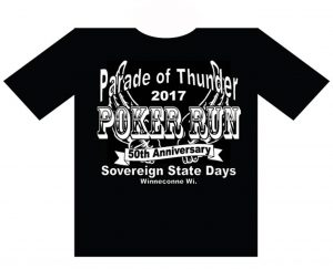 Poker Run t-shirt